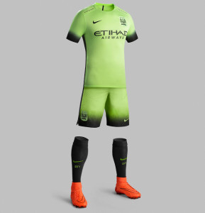 Manchester City 2016 troisieme maillot third 15-16