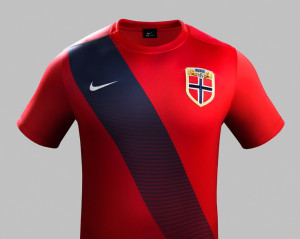Norvege 2015 maillot foot domicile