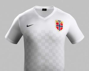 Norvege 2015 maillot foot exterieur