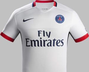 PSG 2015 2016 maillot exterieur Nike 15-16