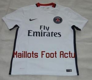 PSG 2016 maillot foot exterieur 15-16 Paris