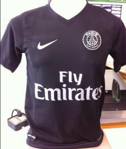 psg 2016 troisieme maillot third 2015 2016. Black Bedroom Furniture Sets. Home Design Ideas