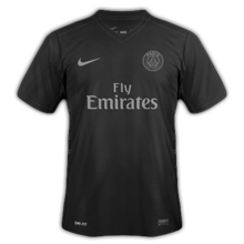 PSG 2016 troisieme maillot third Paris 2015 2016