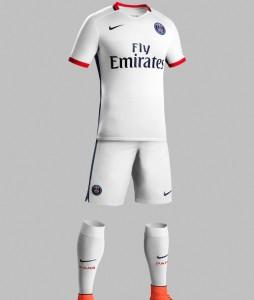 Paris 2016 maillot foot exterieur short chaussettes 2015 2016