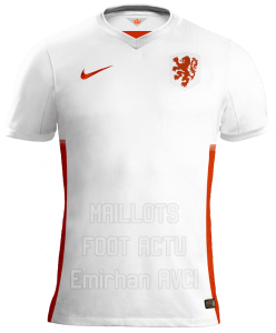 Pays-Bas 2015 maillot foot exterieur 2015 Hollande