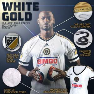 Philadelphia Union 2015 Adidas-MLS maillot exterieur