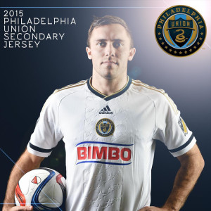 Philadelphia Union 2015 maillot foot exterieur