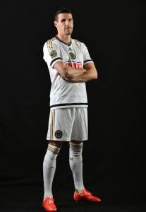 Philadelphia Union 2015 maillot football exterieur
