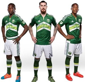 Portland Timbers 2015 maillot domicile foot