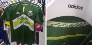 Portland Timbers 2015 maillot domicile football MLS