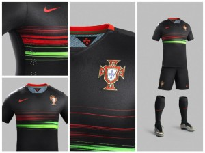 ensemble de foot exterieur Portugal 2015
