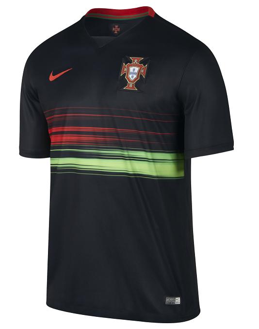 portugal 2015 nouveaux maillots de football maillots foot actu. Black Bedroom Furniture Sets. Home Design Ideas