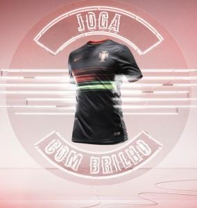 maillot exterieur Portugal 2015 joga com brilho