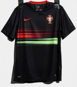 Portugal 2015 maillot exterieur noir