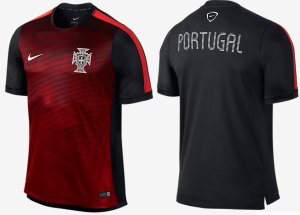 Portugal 2015 maillot pre-match foot