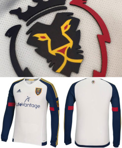 Real Salt Lake 2015 maillot foot exterieur face dos