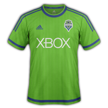 Seattle Sounders 2015 maillot domicile football