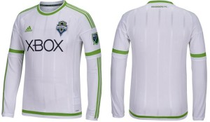 Seattle Sounders 2015 maillot exterieur football