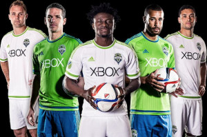 Seattle Sounders 2015 maillots de foot officiels