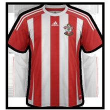 Southampton 2016 maillot domicile
