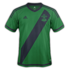 Southampton 2016 maillot exterieur