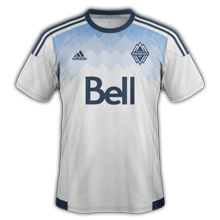 Vancouver Whitecaps 2015 maillot domicile football