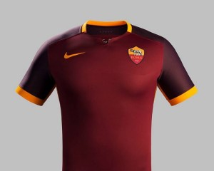 maillot domicile AS Roma 2015 2016
