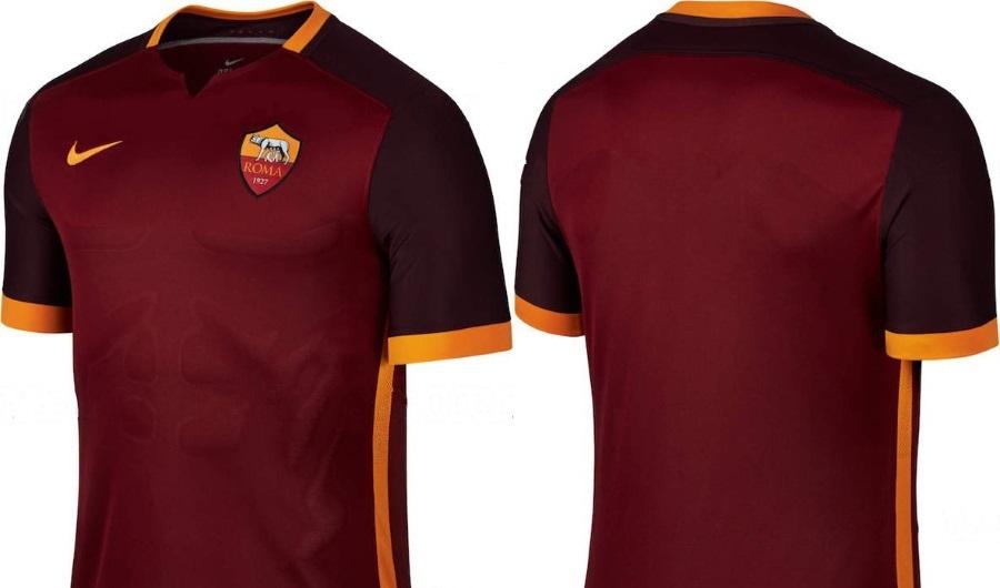 Nike Maillot de football Maillot AS Roma Domicile 2015 16