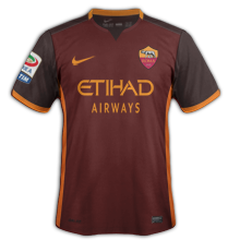 AS Roma 2016 maillot domicile AS Rome 15-16