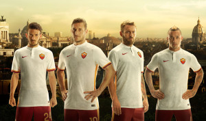 AS Roma 2016 maillot exterieur 15-16 foot