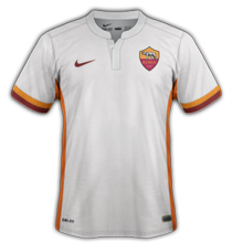 AS Roma 2016 maillot exterieur 2015-2016