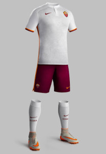 AS Rome 2016 tenue de foot exterieure 15-16