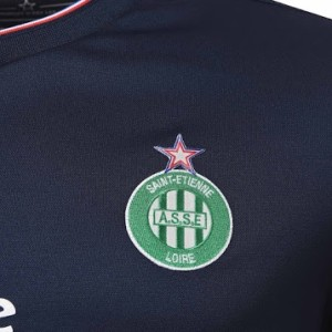 AS Saint-Etienne third 2015 2016 blason ASSE maillot