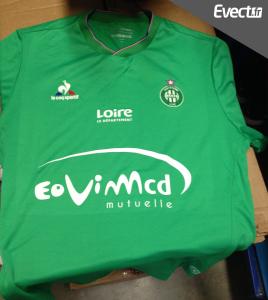 ASSE 2016 maillot de foot domicile Saint-Etienne 15-16