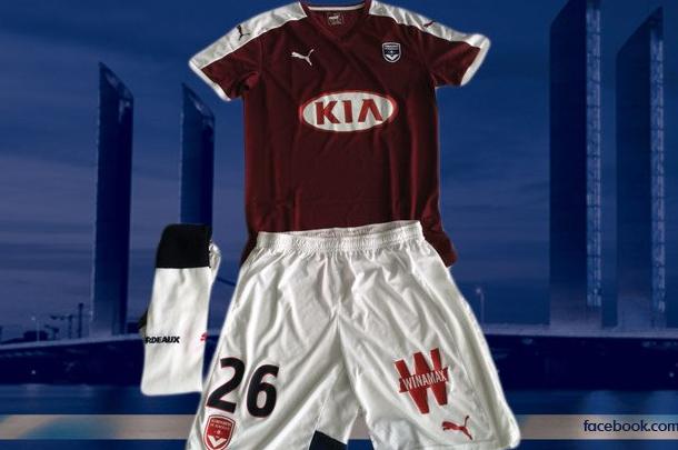 Les maillots des Girondins de Bordeaux 2016