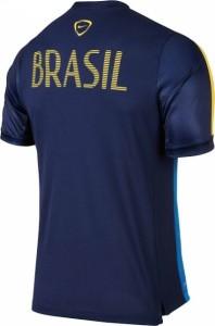 Bresil 2015 dos du maillot avant-match