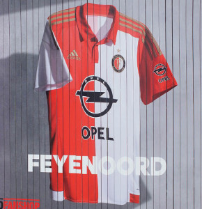 Feyenoord 2016 maillot foot domicile 15-16