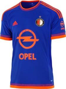Feyenoord 2016 maillot football exterieur 15-16
