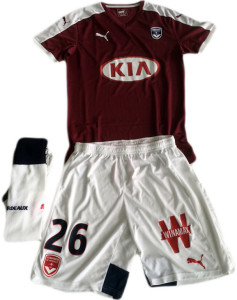 Girondins Bordeaux 2016 quatrieme maillot fourth