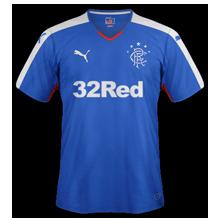 Glasgow Rangers 2016 maillot domicile 15-16