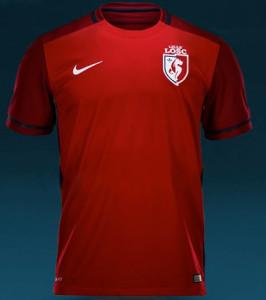 LOSC 2016 maillot domicile Lille 15-16