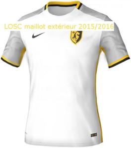 Lille 2016 maillot exterieur 15-16 LOSC