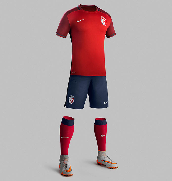 losc 2016 maillots de football lille 15 16 maillots foot actu. Black Bedroom Furniture Sets. Home Design Ideas
