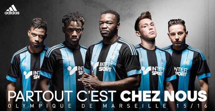 Marseille 2016 maillot exterieur partout c est chez nous