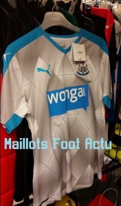 Newcastle 2016 maillot foot exterieur 15-16