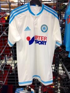 OM 2016 maillot domicile Marseille 2015 2016