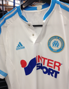 OM 2016 maillot domicile Marseille 2015 2016 zoom