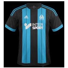 Nouveaux maillots de foot 2015 2016 clubs maillots foot actu for Maillot exterieur om