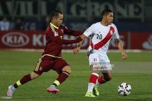 Perou 2015 maillot de foot domicile Copa America