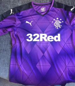 Rangers 2016 maillot third 15-16